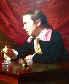 A Boy with a Flying Squirrel (Henry Pelham) 1765 John Singleton Copley (American, 1738–1815)